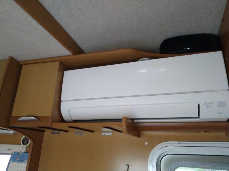 家庭用エアコン取付